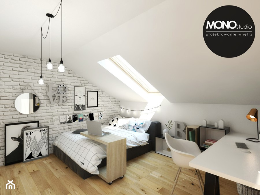 Pokój nastolatki - zdjęcie od Monostudio Wnętrza