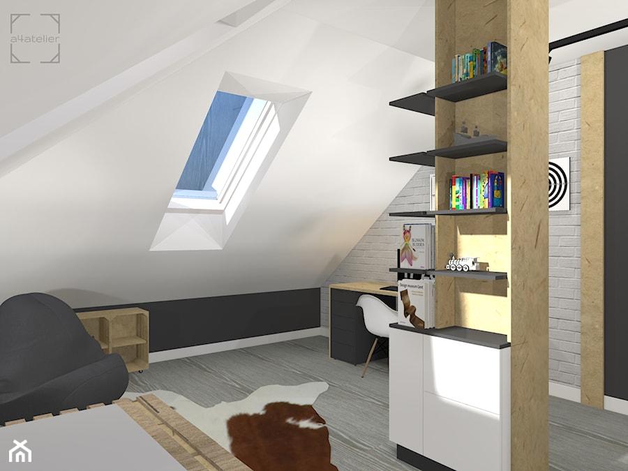 Projekt Pokoju Dla Nastolatka Zdjęcie Od A4 Atelier Projektowanie