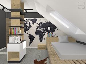 Projekt pokoju dla nastolatka - zdjęcie od A4 Atelier projektowanie wnętrz