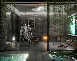 Konkurs dla architektów - Średni taras z przodu domu z tyłu domu - zdjęcie od STEGU