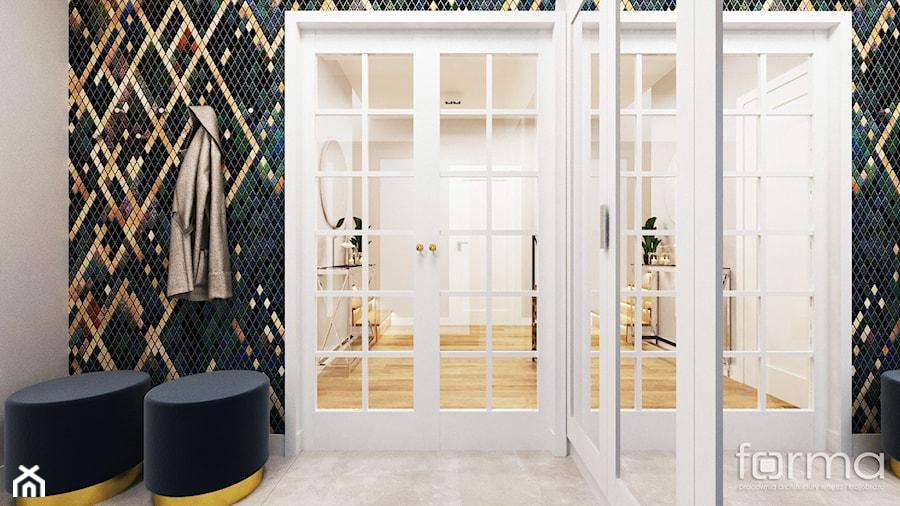 WIATROŁAP ZABIERZÓW - Hol / przedpokój, styl nowojorski - zdjęcie od FORMA - Pracownia Architektury Wnętrz i Krajobrazu