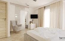 Sypialnia styl Nowoczesny - zdjęcie od FORMA - Pracownia Architektury Wnętrz i Krajobrazu