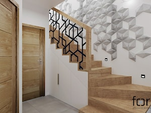 DOM KRYSPINÓW 2 - Schody - zdjęcie od FORMA - Pracownia Architektury Wnętrz