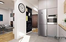 Kuchnia styl Eklektyczny - zdjęcie od FORMA - Pracownia Architektury Wnętrz i Krajobrazu
