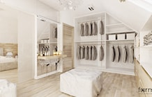 Garderoba styl Nowoczesny - zdjęcie od FORMA - Pracownia Architektury Wnętrz i Krajobrazu