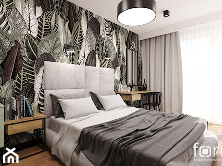 Aranżacje wnętrz - Sypialnia: SYPIALNIA MASARSKA - Średnia biała sypialnia małżeńska, styl eklektyczny - FORMA - Pracownia Architektury Wnętrz. Przeglądaj, dodawaj i zapisuj najlepsze zdjęcia, pomysły i inspiracje designerskie. W bazie mamy już prawie milion fotografii!