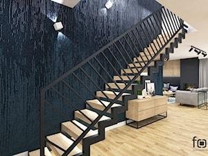 DOM TUCHÓW - Schody, styl eklektyczny - zdjęcie od FORMA - Pracownia Architektury Wnętrz