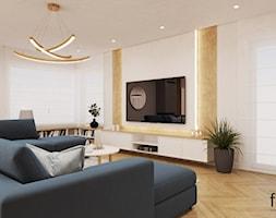 DOM TARNÓW - Salon, styl nowoczesny - zdjęcie od FORMA - Pracownia Architektury Wnętrz - Homebook
