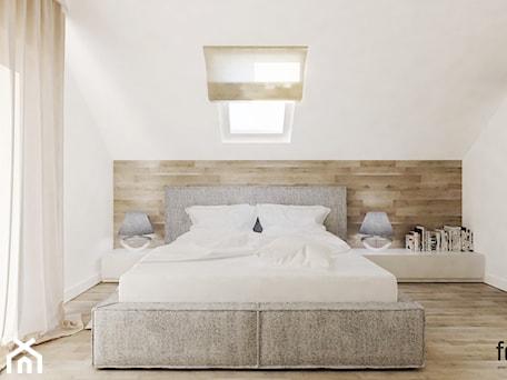 Aranżacje wnętrz - Sypialnia: SYPIALNIA Z GARDEROBĄ - Średnia sypialnia małżeńska, styl nowoczesny - FORMA - Pracownia Architektury Wnętrz. Przeglądaj, dodawaj i zapisuj najlepsze zdjęcia, pomysły i inspiracje designerskie. W bazie mamy już prawie milion fotografii!