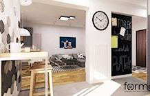 Salon styl Nowoczesny - zdjęcie od FORMA - Pracownia Architektury Wnętrz i Krajobrazu