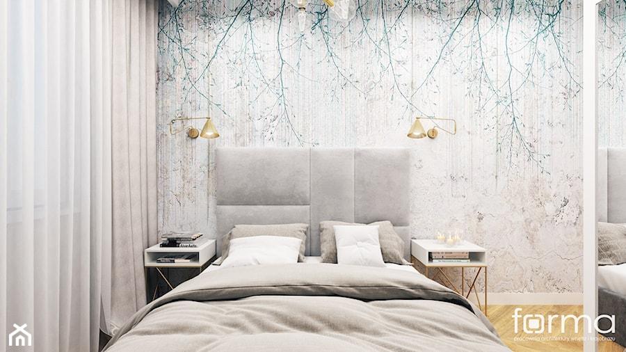 SYPIALNIA WARSZAWA - Sypialnia, styl nowojorski - zdjęcie od FORMA - Pracownia Architektury Wnętrz