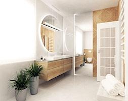 ŁAZIENKA 1 TARNÓW - Łazienka, styl nowoczesny - zdjęcie od FORMA - Pracownia Architektury Wnętrz - Homebook