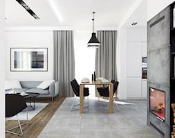 DOM WIELICZKA - Salon, styl nowoczesny - zdjęcie od FORMA - Pracownia Architektury Wnętrz i Krajobrazu
