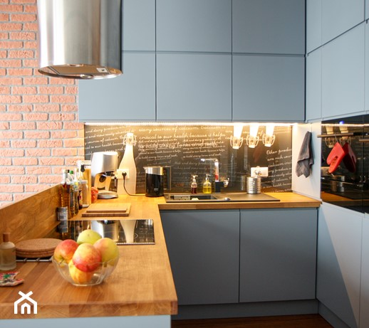 szara kuchnia z ikea  Ideabook użytkownika andinek