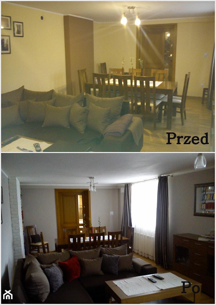 Salon przed i po przemianie - zdjęcie od Szymon930 - Homebook