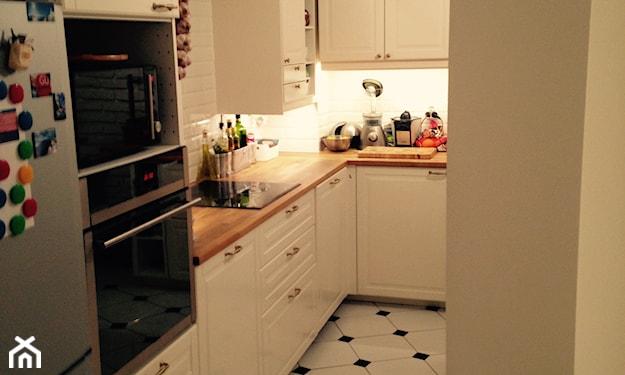 kuchnia mała w bloku urządzanie