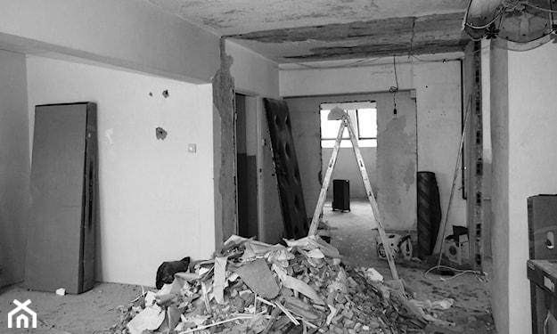 rozbiórka ściany wewnętrznej