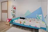 kolorowe szczyty w pokoju dziecka