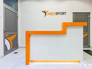 Meble na wymiar do centrum rehabilitacyjno-sportowego MediSport w Lublinie