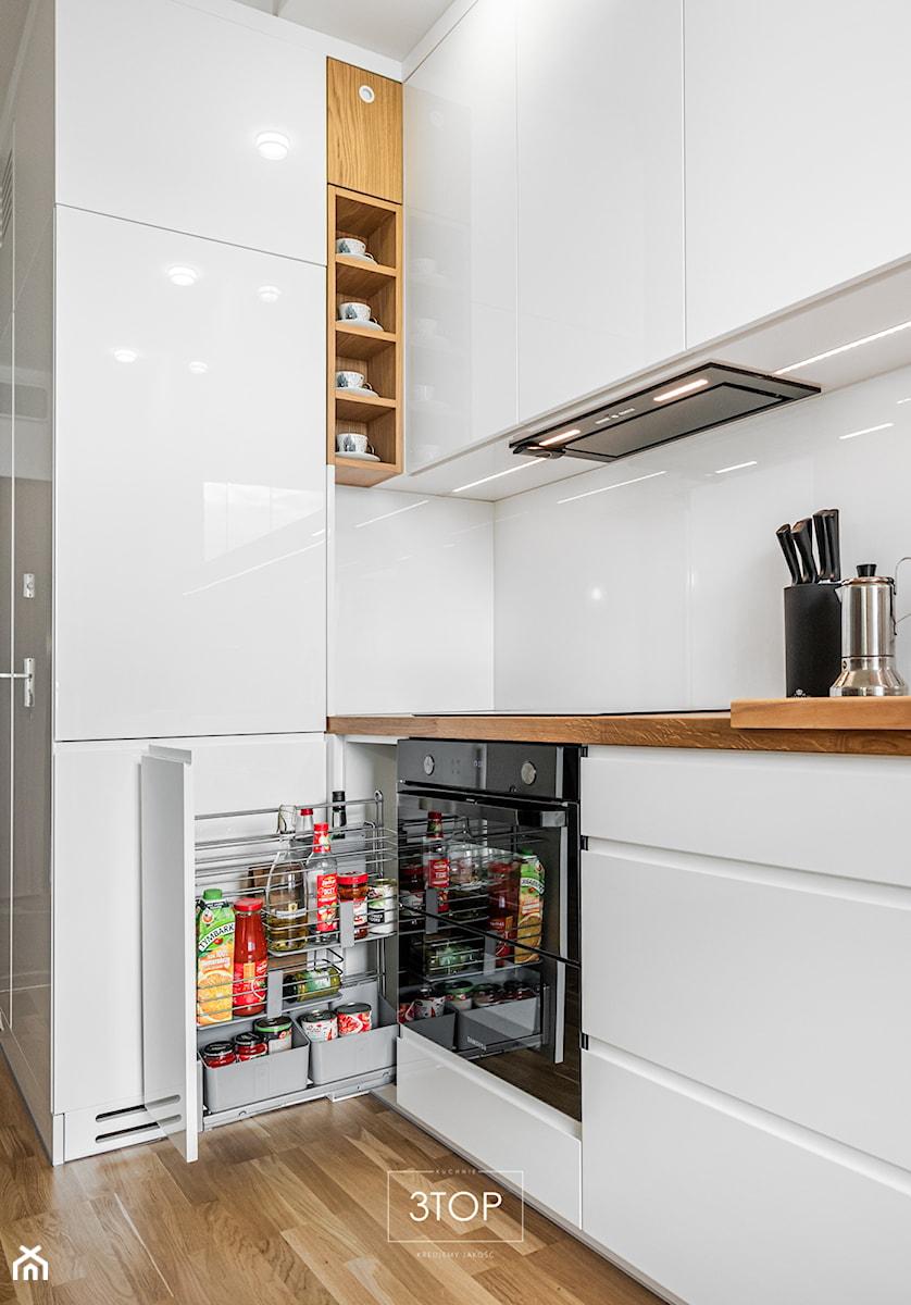 Elegancka i nowoczesna kuchnia na wymiar od 3TOP Kuchnie - zdjęcie od 3TOP KUCHNIE