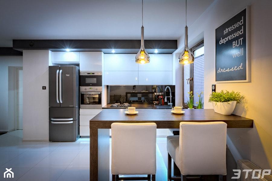 Zabudowa meblowa kuchni  Duża otwarta kuchnia  -> Kuchnia Otwarta Obrazy