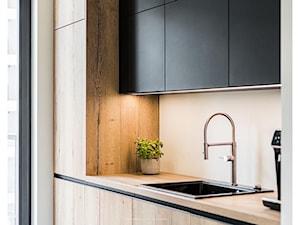 Kuchnia w stylu soft loft od 3TOP Kuchnie