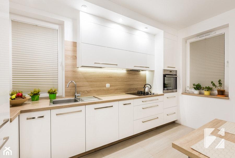 Kuchnia na wymiar w minimalistycznym stylu  zdjęcie od   -> Kuchnia Na Wymiar Ruda Śląska