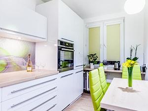Zabudowa kuchni w apartamencie w Lublinie