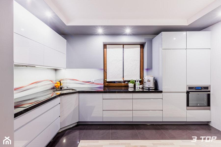 Zabudowa Meblowa Kuchni Projekt Wnetrza Mieszkalnego 3top Kuchnie