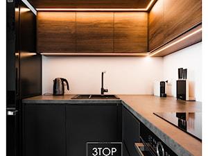 Kuchnia na wymiar w stylu nowoczesnego loftu od 3TOP