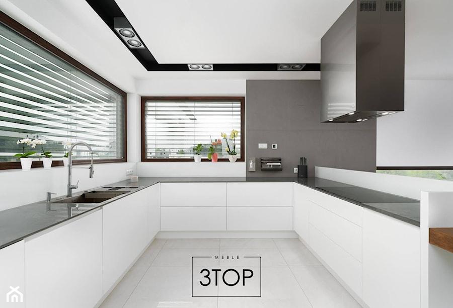 Kuchnia na wymiar - styl nowoczesny | 3TOP Kuchnie - zdjęcie od 3TOP KUCHNIE