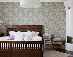 Skandynawski dom - Średnia kolorowa sypialnia małżeńska, styl skandynawski - zdjęcie od Casa Bianca