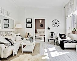Mieszkanie pełne bieli - Salon, styl skandynawski - zdjęcie od Casa Bianca - Homebook