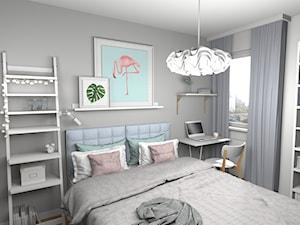 Sypialnia z pelikanem