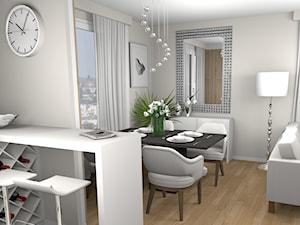 Ponadczasowa klasyka i elegancja a kuchnia za dużymi suwanymi drzwiami