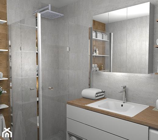 Nowoczesna Szara łazienka Pomysły Inspiracje Z Homebook