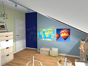 Pokój małego geografa :)