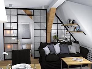 Przytulne mieszkanie na poddaszu