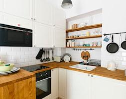 Mieszkanie na Asnyka w Krakowie pod wynajem krótkoterminowy - Kuchnia, styl skandynawski - zdjęcie od Pracownia Kardamon