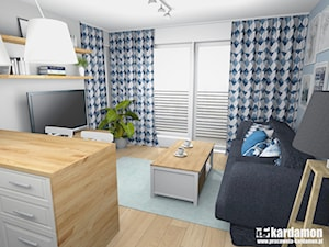 Sielanka domowa w mieszkaniu w bloku
