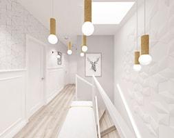 Kobiecy dom pod Warszawą - Średni biały szary pokój dziecka dla chłopca dla dziewczynki dla malucha ... - zdjęcie od Krystyna Regulska Architektura Wnętrz - Homebook
