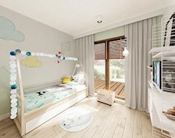 Skandynawska Wola - Średni szary pokój dziecka dla dziewczynki dla malucha dla nastolatka, styl ska ... - zdjęcie od Krystyna Regulska Architektura Wnętrz - Homebook