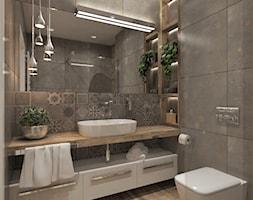 Szara łazienka Aranżacje Pomysły Inspiracje Homebook