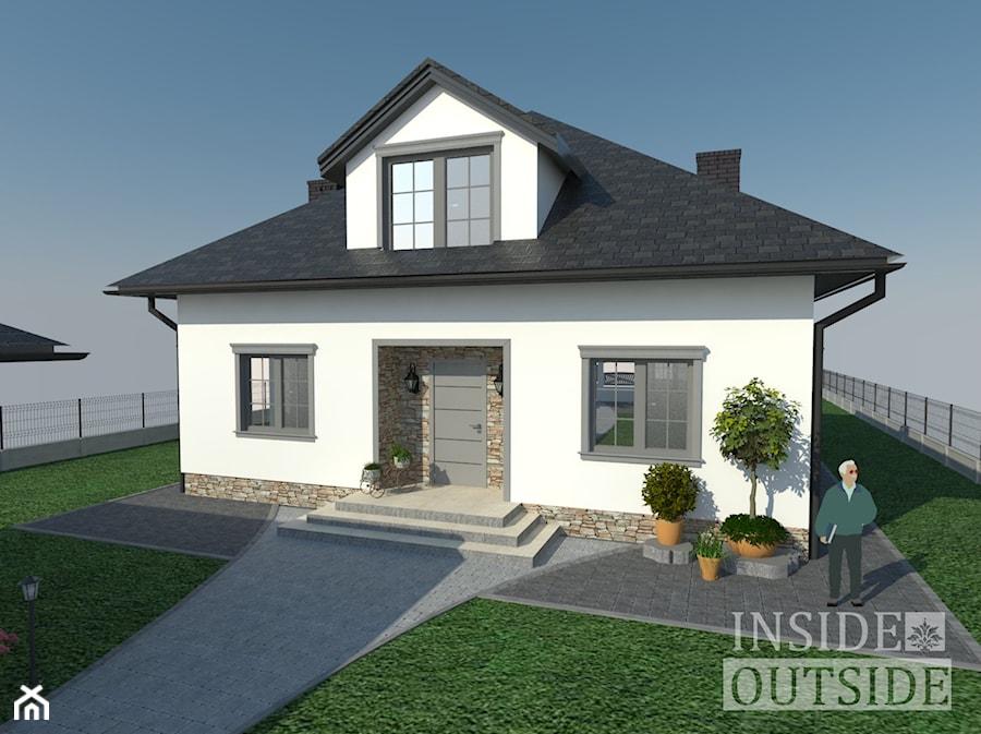 Projekt Elewacji Domu Jednorodzinnego W Gostyni Domy Styl