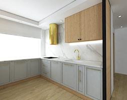 Klasyczna kuchnia z dodatkiem złota - Kuchnia, styl klasyczny - zdjęcie od IM WNĘTRZA   Projektowanie wnętrz - Homebook