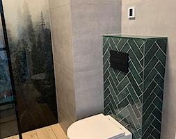 Mieszkanie na wynajem krótkoterminowy - Łazienka, styl nowoczesny - zdjęcie od IM WNĘTRZA   Projektowanie wnętrz - Homebook