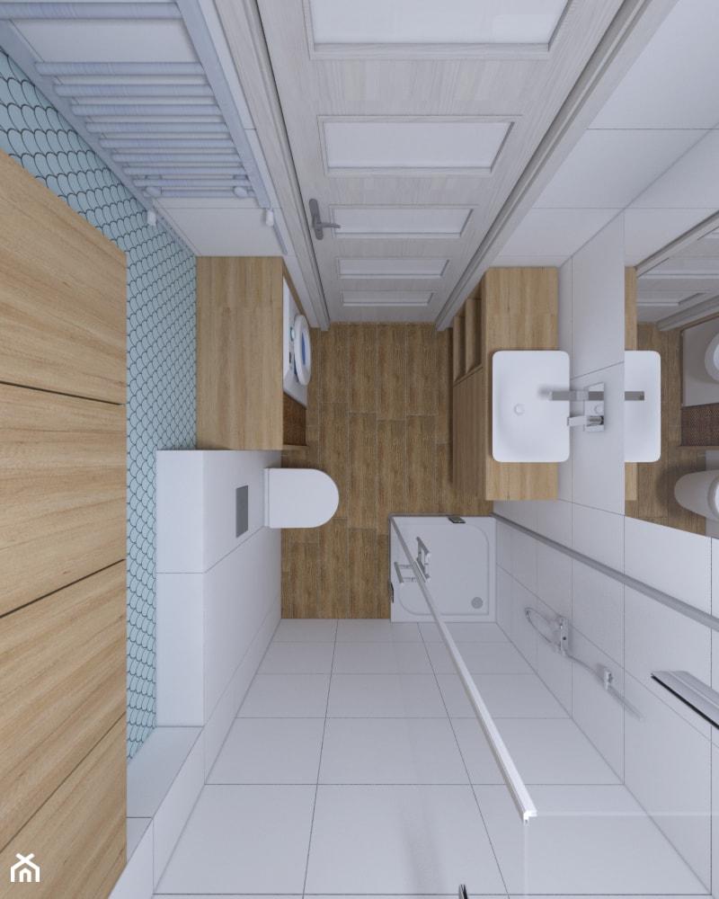 Projekt Małej łazienki Mała Biała łazienka W Bloku W Domu