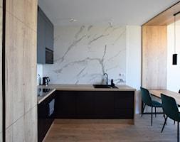 Mieszkanie na wynajem krótkoterminowy - Kuchnia, styl nowoczesny - zdjęcie od IM WNĘTRZA   Projektowanie wnętrz - Homebook