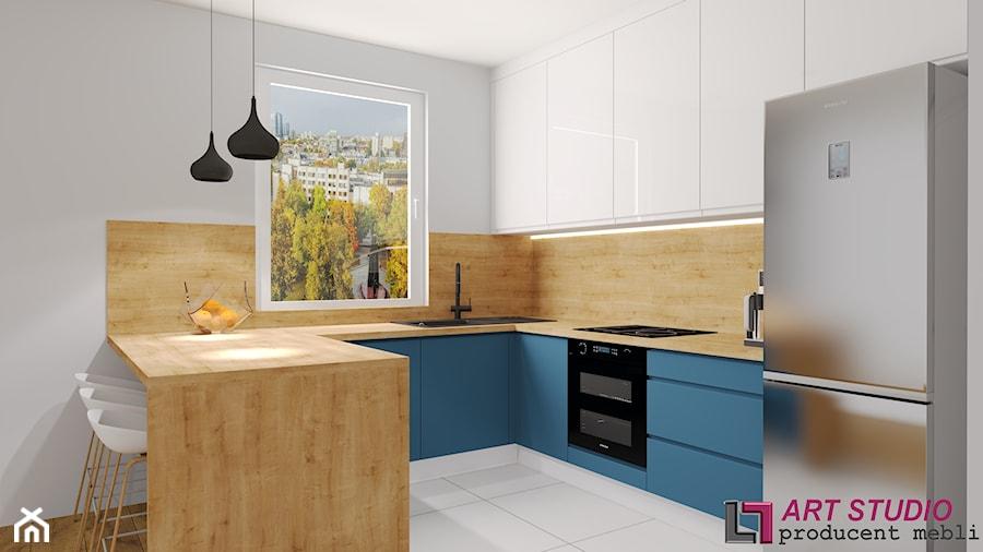 KUCHNIA #35 - Kuchnia, styl glamour - zdjęcie od Art.studio