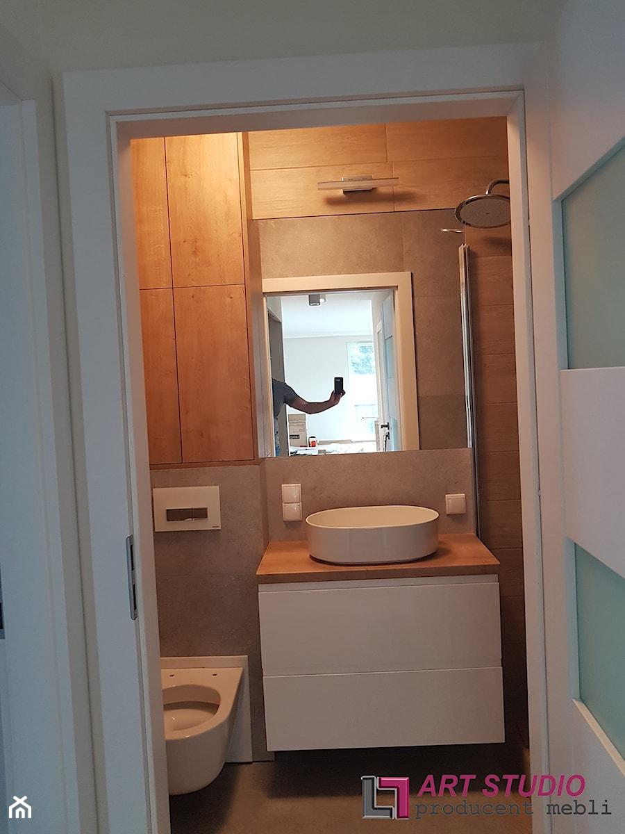 Zabudowa łazienki - Łazienka, styl nowoczesny - zdjęcie od Art.studio